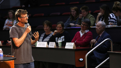 Lynas shares his GMO journey in Heuermann Lecture