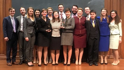 Speech and debate team earns 6th straight Big Ten title
