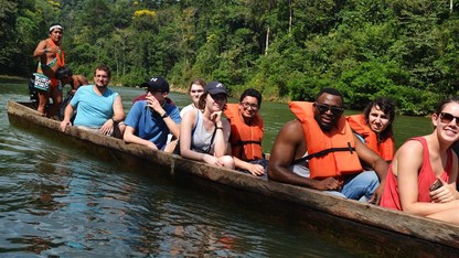 Students visit Panama for sustainability project