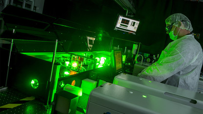 Morrill Hall to host laser-filled weekend