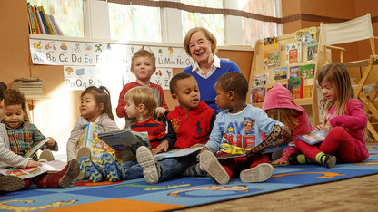 Nebraska Lecture will focus on language development, reading skills