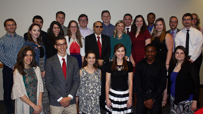 30 students named to Franco's List for character, integrity
