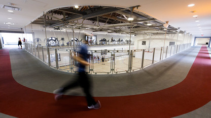 Renovated East Campus rec proves popular