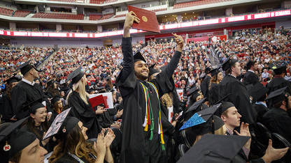 Ready to make footprints: Nearly 1,500 Huskers earn degrees