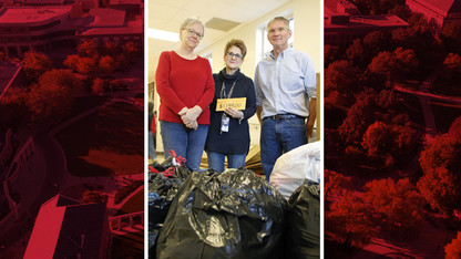 Natural Resources collects winter gear, $1,150 for Clinton Elementary