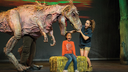 Lied's January shows to feature dinos, acrobats, singers