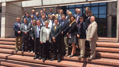 Nebraska LEAD 36 fellows visit South America