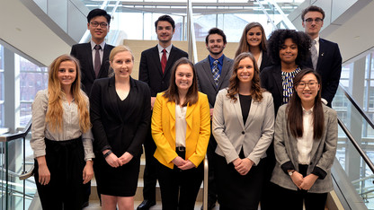 11 freshmen named International Business Distinguished Scholars