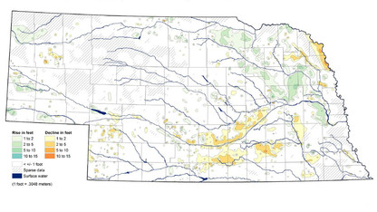 Report: Nebraska continues to see modest groundwater decline
