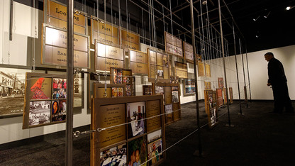 Exhibition displays perspective on migration in Nebraska