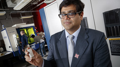 Rao investigates ways to transform 3-D printing
