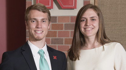 Grasz, Maciejewski named outstanding student leaders