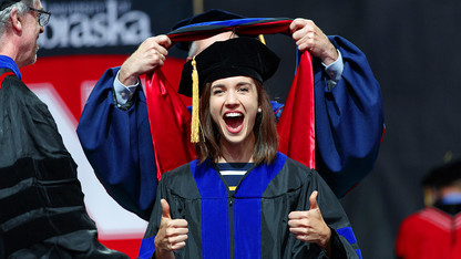 Plowman tells graduates to never stop dreaming