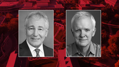 Heuermann Lecture to feature Chuck Hagel, Bob Kerrey