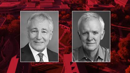 Heuermann Lecture to feature Chuck Hagel, Bob Kerrey