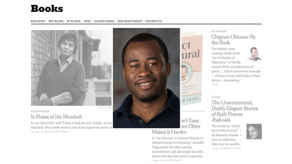 Obioma discusses literary life in New York Times