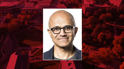 Microsoft CEO Satya Nadella featured in today's N150 conversation
