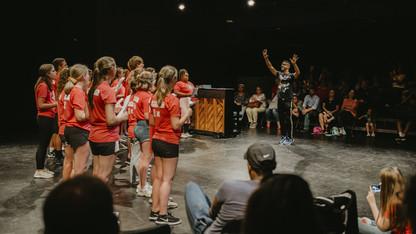 Lied Center's Triple Threat intensive draws 36 participants