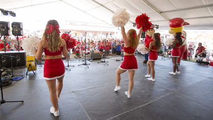 Perdue town hall, pep rally, exhibits highlight N150 celebrations at state fair