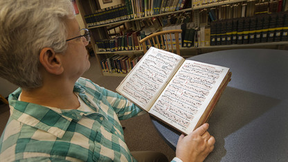 Historic Gregorian chant book donated to university
