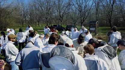 Nebraska Extension offers introductory beekeeping workshops