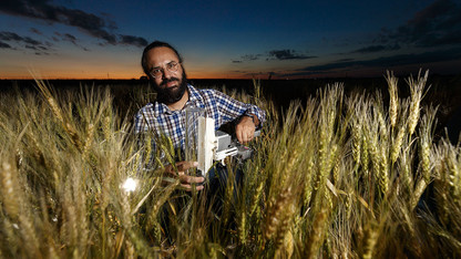 Walia featured today in Nebraska Lecture on climate change, crop yields