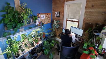 Lopez' lush, multipurpose space earns home office honor