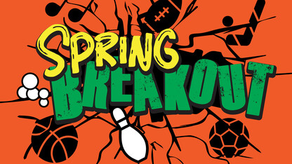 Spring Breakout festival to help students refocus, recharge