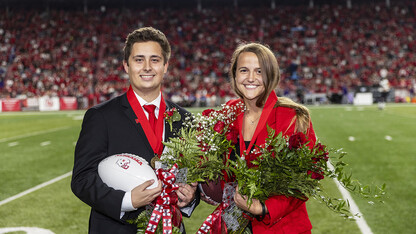 Martin, Jahnke crowned homecoming royalty