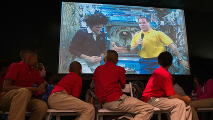 Nebraska youth participate in Q&A with astronauts
