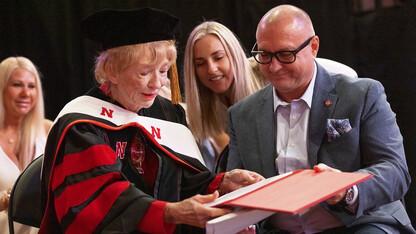 Leta Powell Drake earns honorary doctorate from Nebraska U