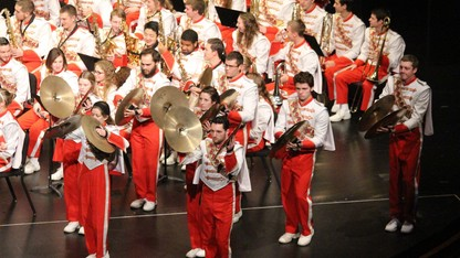Cornhusker Marching Band highlights concert is Dec. 9