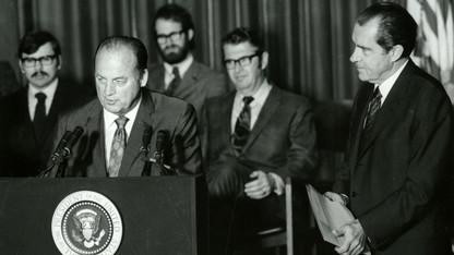 Nixon visit honored the Huskers