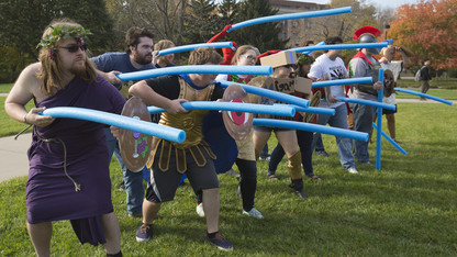 Ancient warfare class expands to offer simulated battles