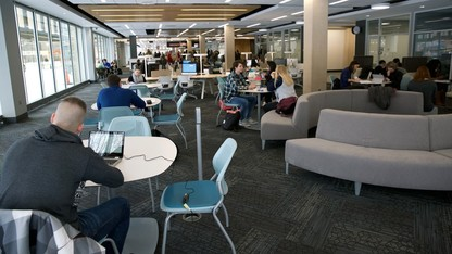 Learning commons open 24/7 starting April 22