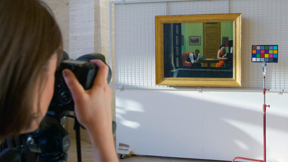 Sheldon project to digitize entire art collection