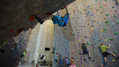 An Hour on Campus: Outdoor Adventures Center