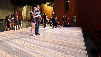 Campus support key in thespian festival success