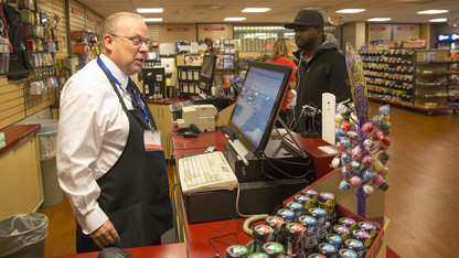 McLean finds gratification in campus bookstore