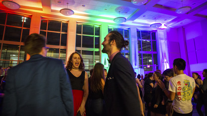 Huskers celebrate pride, homecoming at Rainbow Ball