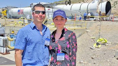Husker alumna contributes to NASA's next-generation rocket