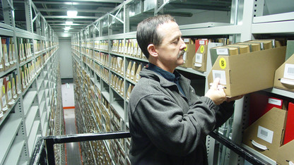 Library Depository Remote Facility offers research visits