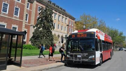 Limited campus bus services begin Nov. 30