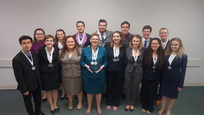 Nebraska speech team earns 7th Big Ten title; 12th at nationals