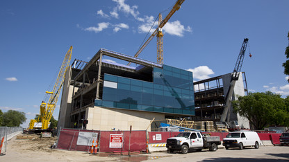Large projects dominate summer construction schedule