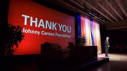 $20M gift to create Johnny Carson Center for Emerging Media Arts