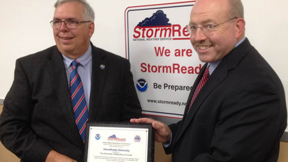 National Weather Service says UNL is StormReady