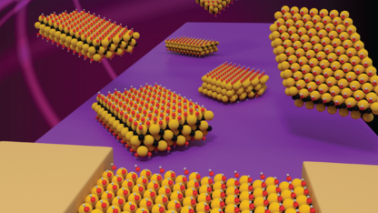 Husker scientists boost performance of emerging nanomaterial