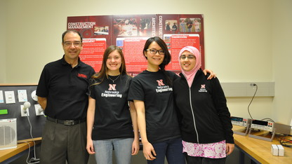 Engineering team takes 'iTrack' innovation to DC
