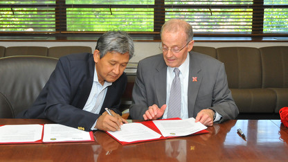 UNL signs agreement with Indonesian university